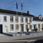 Inauguration de la mairie de Hauconcourt.