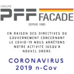 Activités suspendus suite au COVID-19