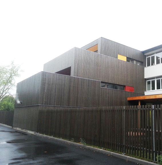 bardage façade